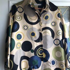 EWANIKA silk blouse